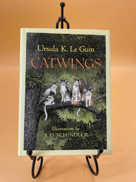 Catwings by Ursula K. Le Guin w illustrations by S.D. Schindler