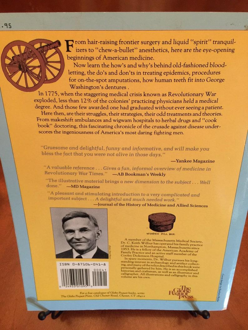 1700 d Revolutionary Medicine 1800 CKeith WilburM By 53j4ALR