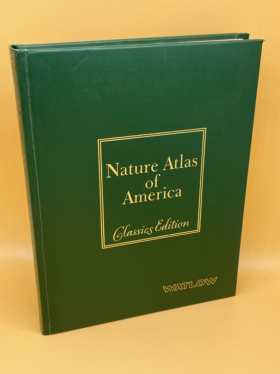 Nature Atlas of America Classics Edition 1979 Fine Binding Hammond Edition Ridge Press Books