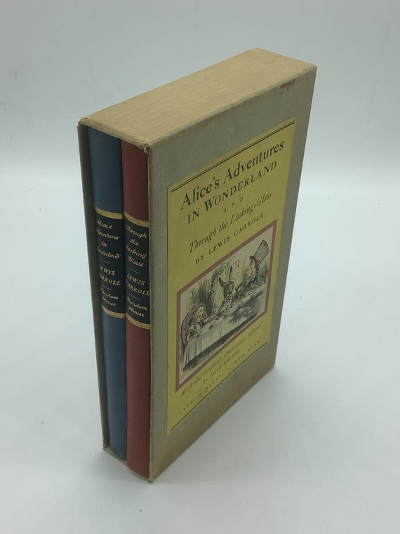 Alice's Adventures in Wonderland and Through the Looking Glass by Lewis Carroll  (Random House 1946)
