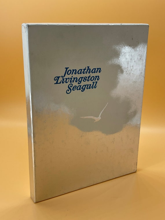 Jonathan Livingston Seagull by Richard Bach (hardcover in slipcase 1975)