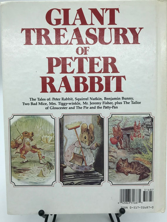 Giant Treasury of Peter Rabbit by Beatrix Potter with her original illustrations