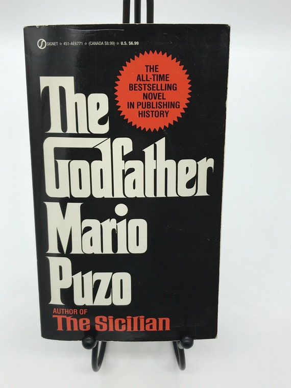 The Godfather by Mario Puzo (mass market vintage paperback)
