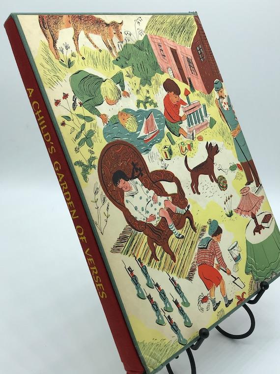 A Child's Garden of Verses by Robert Louis Stevenson illustrations by Roger Duvoisin