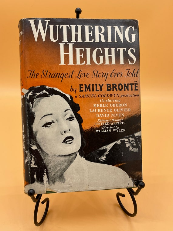 Wuthering Heights b y Emily Brontë (1941 Movie Tie In Edition Triangle Books)