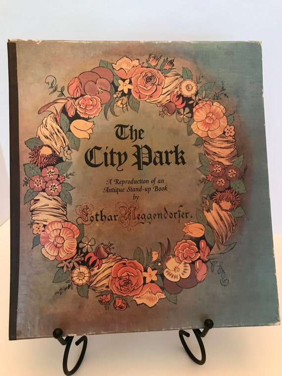 The City Park  A Reproduction of an Antique Stand-Up Book by Lothar Meggendorfer (from The Metropolitan Museum of Art)