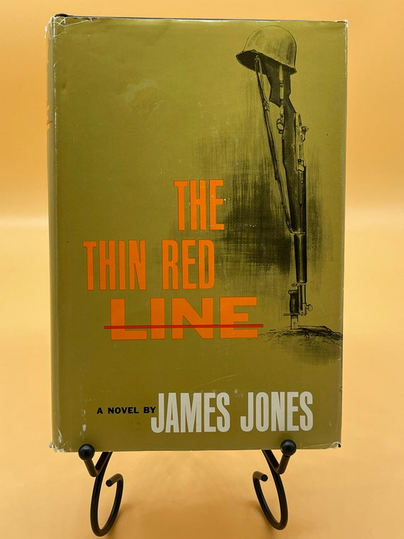 The Thin Red Line a Novel by James Jones
