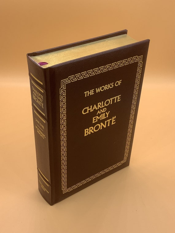 The Works of Charlotte and Emily Brontë  Leather-bound Classics Longmeadow Press