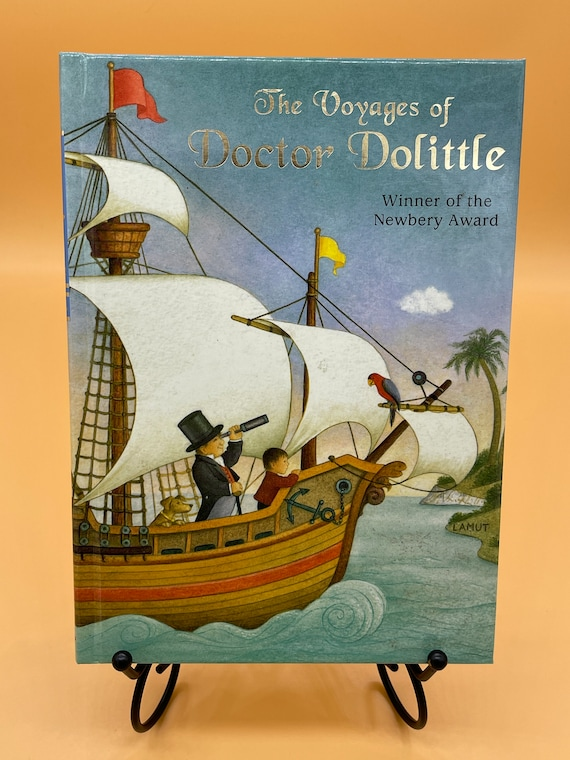 The Voyages of Doctor Dolittle by Hugh Lofting Illustrated Jr Library