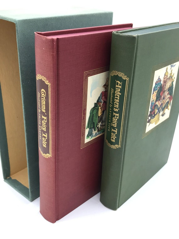 Grimms' Fairy and Andersen's Fairy Tales Boxed Set