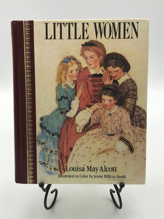 Little Women by Louisa May Alcott (Illustrated Hardcover)