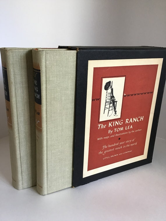 The King Ranch  Two Volume Box Set by Tom Lea
