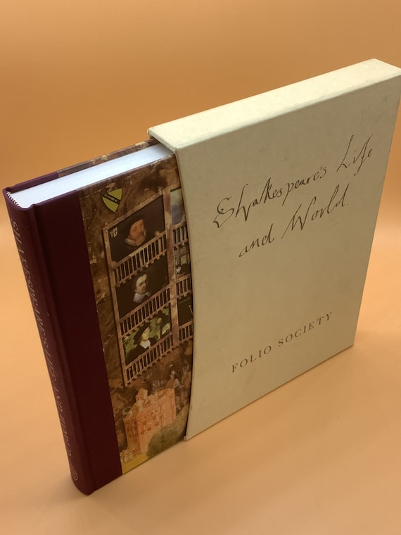 Shakespeare's Life and World (Folio Society collectible in slipcase)