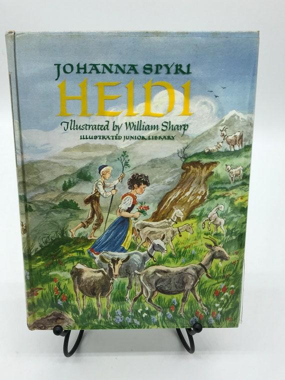 Heidi by Johanna Spyri (Illustrated Jr. Library)
