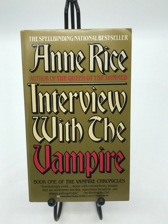Interview With The Vampire  and Pandora by Anne Rice  (set of two paperbacks)