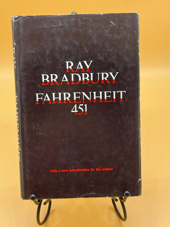 Fahrenheit 451 by Ray Bradbury (Book Club Edition including two additional short stories, 1967)