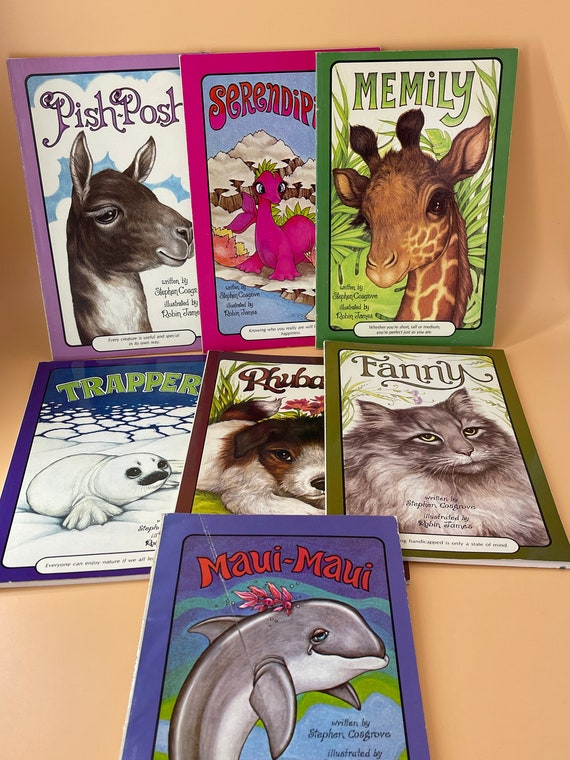 Set of 7 Serendipity Books by Stephen Cosgrove and Robin James (illustrator)