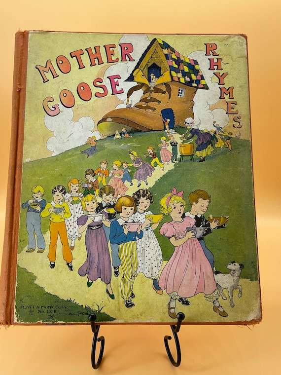 Mother Goose Rhymes  Platt and Monk Publishing 1932
