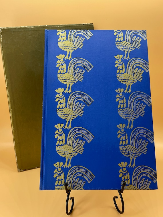 The Tale of the Golden Cockerel Alexander Pushkin illustrated by Edmund Dulac Heritage Press in Slipcase