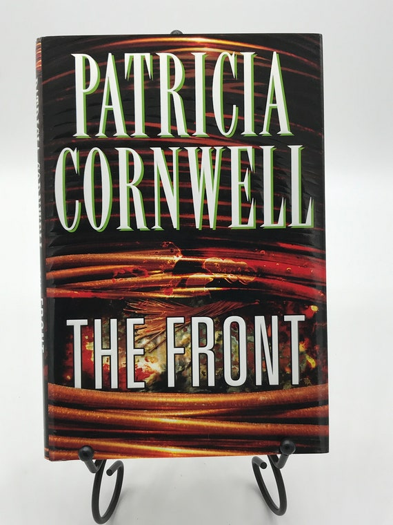 The Front  a novel by Patricia Cornwell