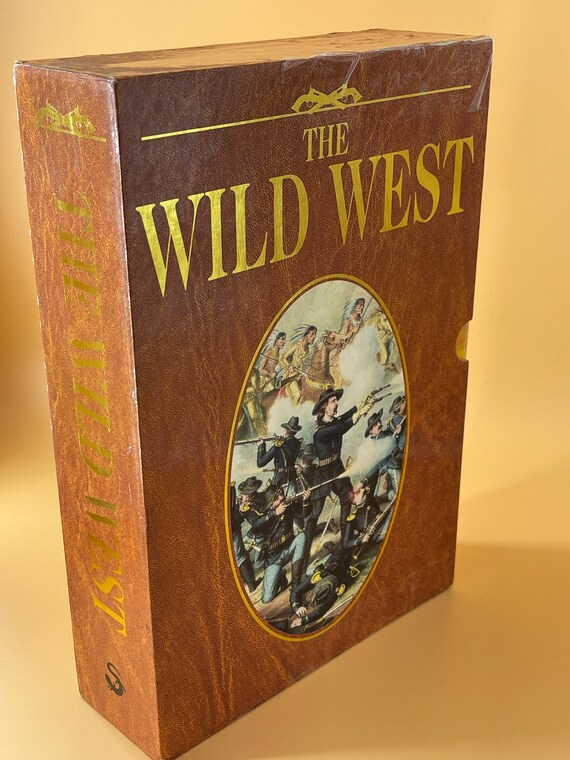 The Wild West Box Set of Three paperback, The American Frontier, Age of the Gunfighter, The Native Americans