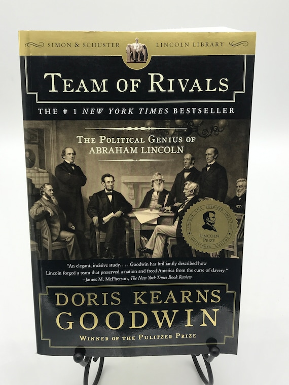 Team of Rivals The Political Genius of Abraham Lincoln by Doris Kearns Goodwin (paperback)
