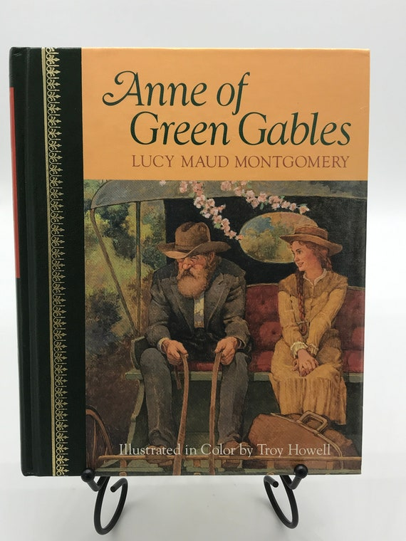 Anne of Green Gables  by Lucy Maud Montgomery (Illustrated Hardcover)