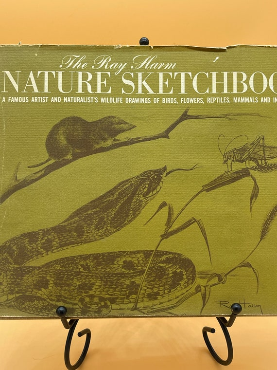 The Ray Harm Nature Sketchbook A famous Artist and Naturalist's Wildlife Drawings of Birds, Flowers, Reptiles, Mammals and Insects