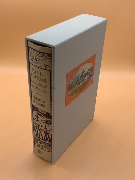 Paul Revere and the World He Lived in by Esther Forbes (hardcover special edition in slipcase)