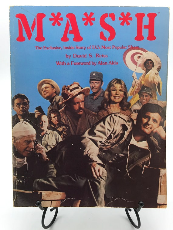 M*A*S*H  MASH the Exclusive Inside Story of T.V.'s Popular Show w foreword by Alan Alda (paperback)