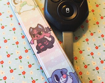 Rowlet, Litten, and Popplio Strap
