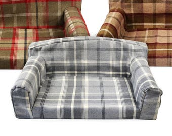 Royal - pet sofa. 3 sizes Dog bed. High quality cover material. Couch Made in UK