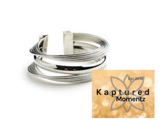 Layered Ring Cuff Bracelet-READY TO SHIP!