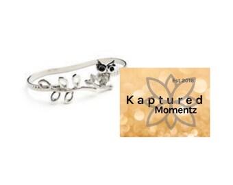 Owl Wrap Bracelet-ready to ship!