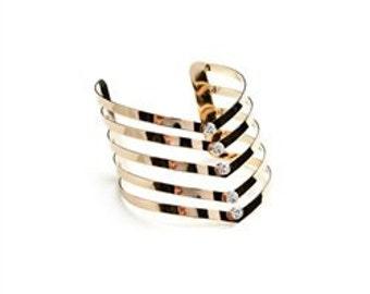 Angled Layer Bracelet-READY TO SHIP!