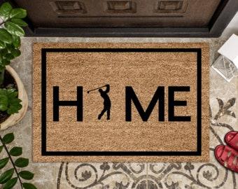 personalized outdoor mat simple custom doormat men/'s gift best friend gift boy customized home decor