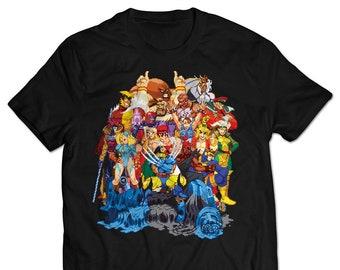 Street Fighter Shirt Etsy