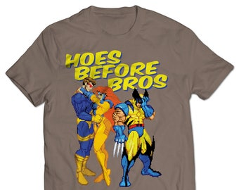 X-Men Hoes Before Bros T-shirt