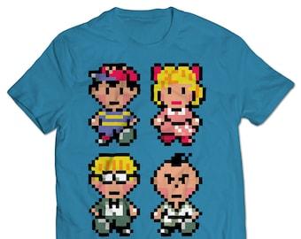 EarthBound Cast T-shirt