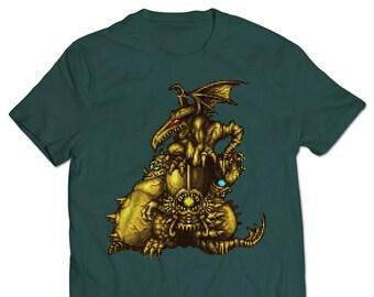 Golden Statues T-shirt