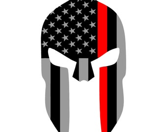 Thin Red Line Spartan
