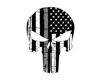 Correctional Officer Punisher- Thin Gray line