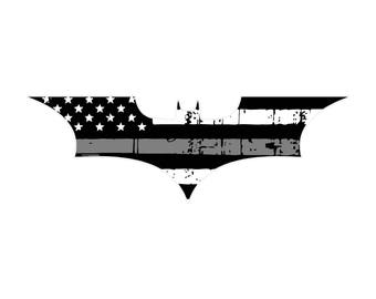 Dark Knight Correctional Officer Decal