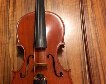 Otto A. Glaesel  Stradivaria Model Violin(Cremona 1700) with Oskar E. Meinel Bow.