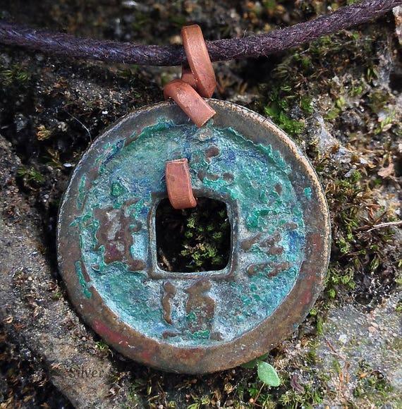 Nur Eine Alte Chinesische Münze Alter über 1000 Jahre Anhänger Etsy