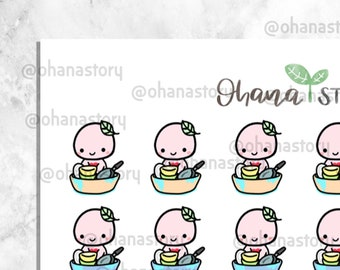 Buji - WASH DISHES - Planner Stickers (BUJI-026)