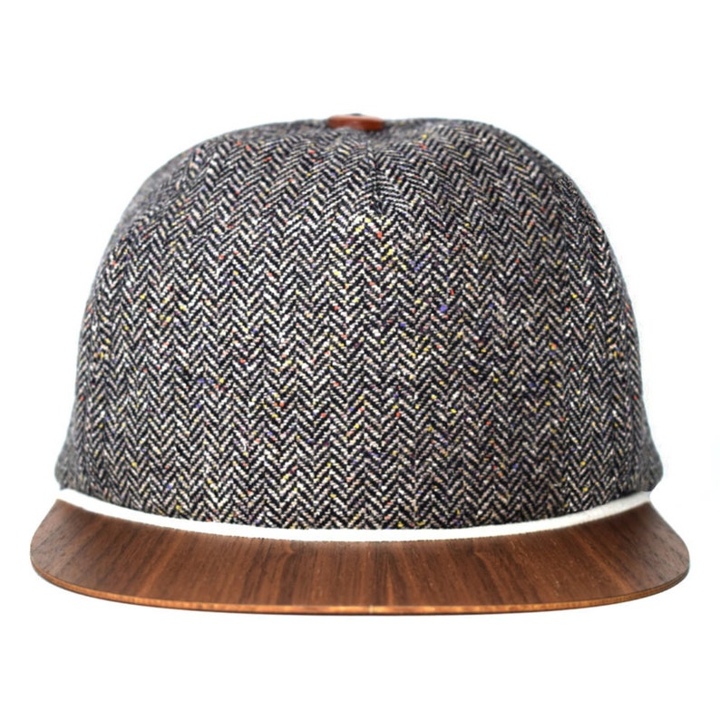 0c71cfd76272e Tweed Cap for men with unique wooden brim Made in Germany