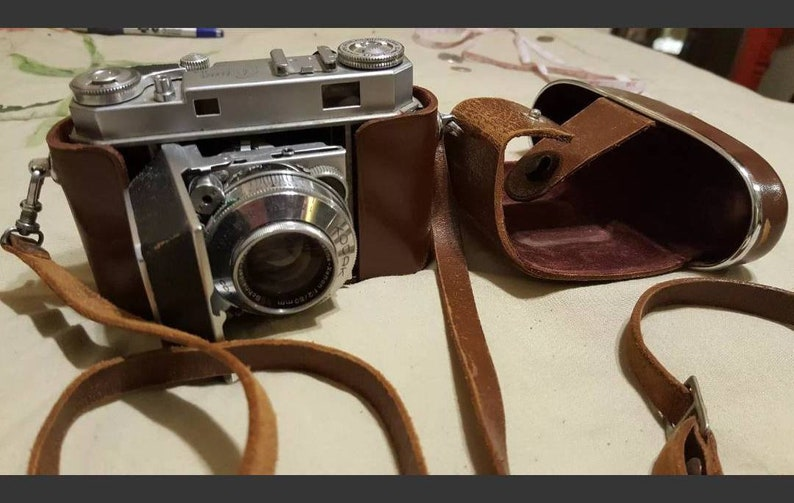 Vintage Retina IIA 2A Leather CAMERA CASE