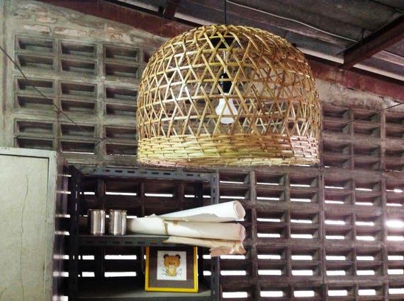 Bambus-Pendelleuchte Küche Anhänger Beleuchtung Küche Insel | Etsy