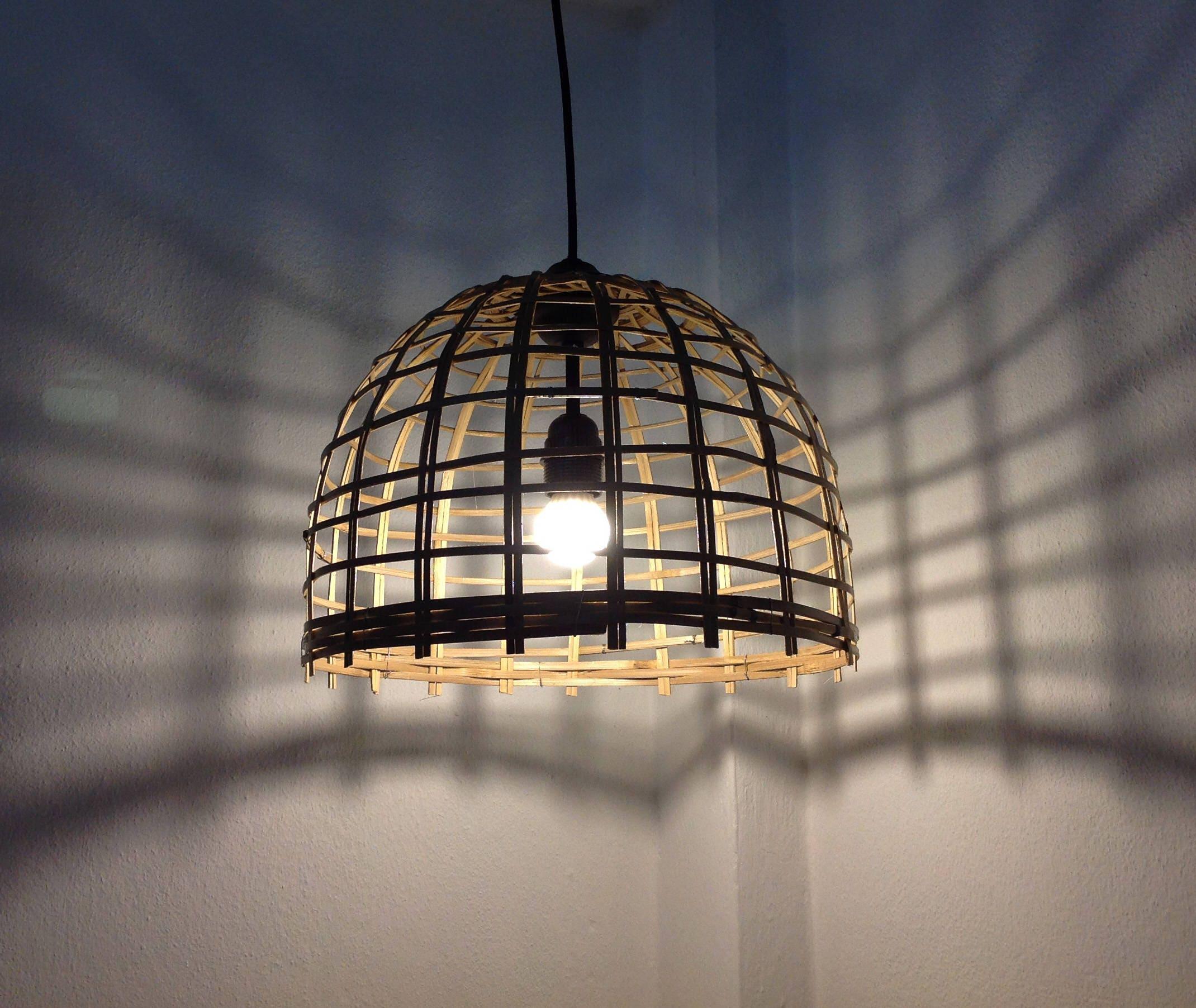 Wohnzimmer Licht Deckenleuchte Leuchte Korb Anhänger